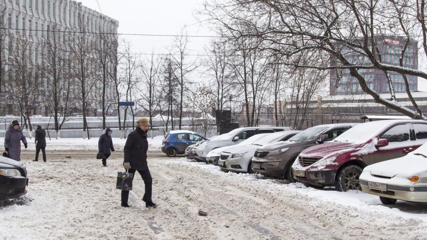 Город-каток: ледяная корка покрыла все улицы Москвы