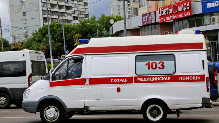 Маршрутка в Новой Москве влетела в автобус: ранен ребенок
