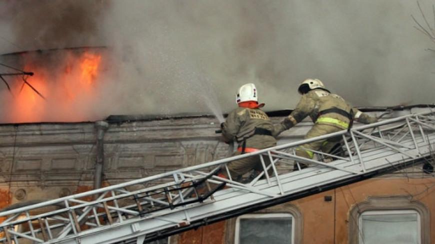 В общежитии МГИМО загорелся матрас