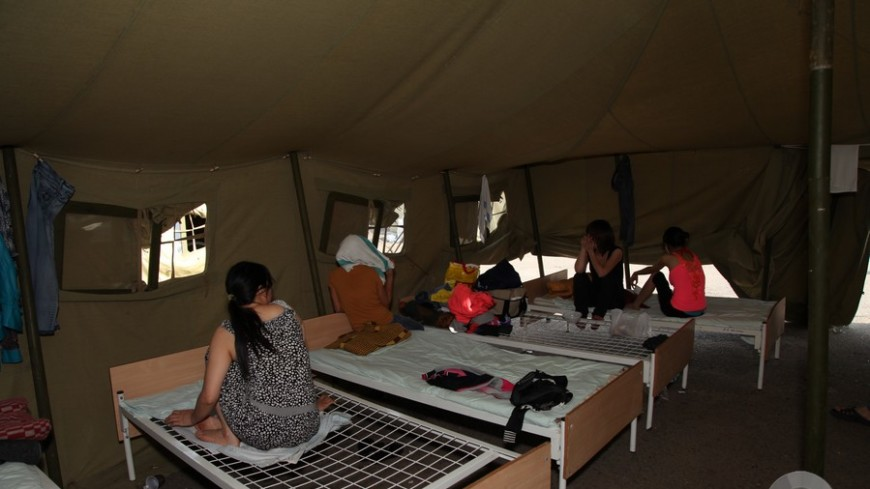 Беженцев в Венгрии будут сажать за незаконное пересечение границы