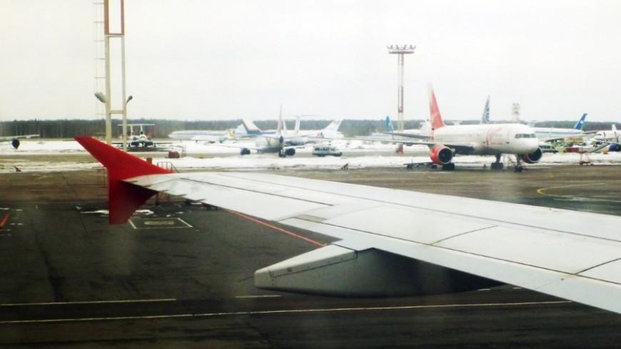 Во «Внуково» самолет выкатился за пределы полосы
