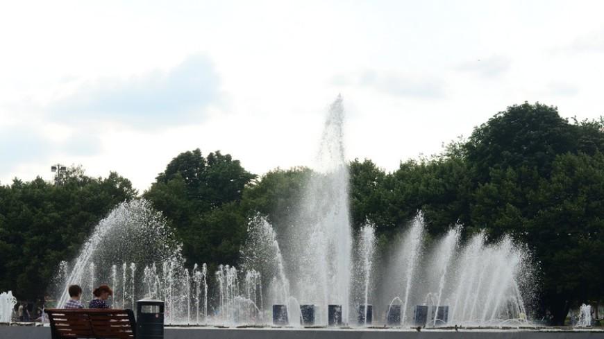 В Москве не будут отключать фонтаны на день ВДВ