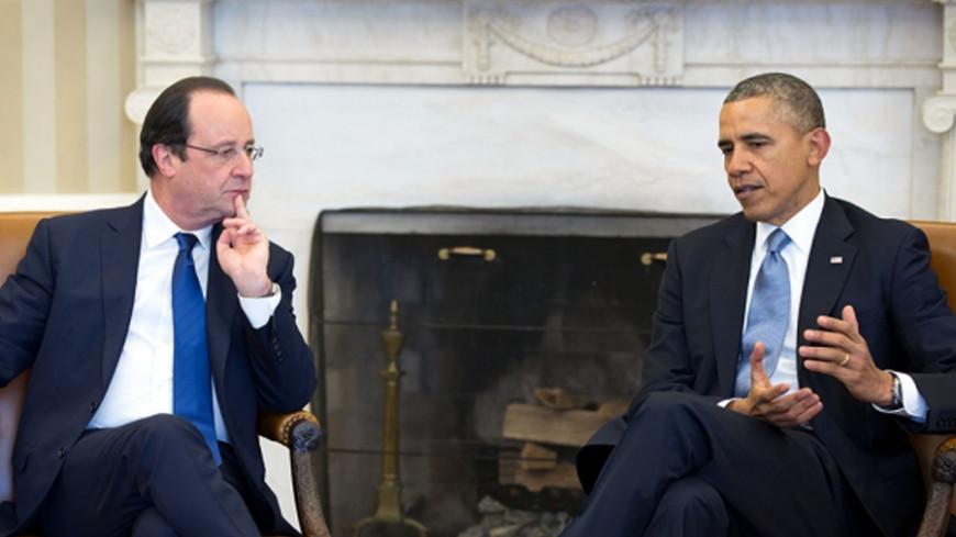 Обама и Олланд обсудили сохранение антироссийских санкций