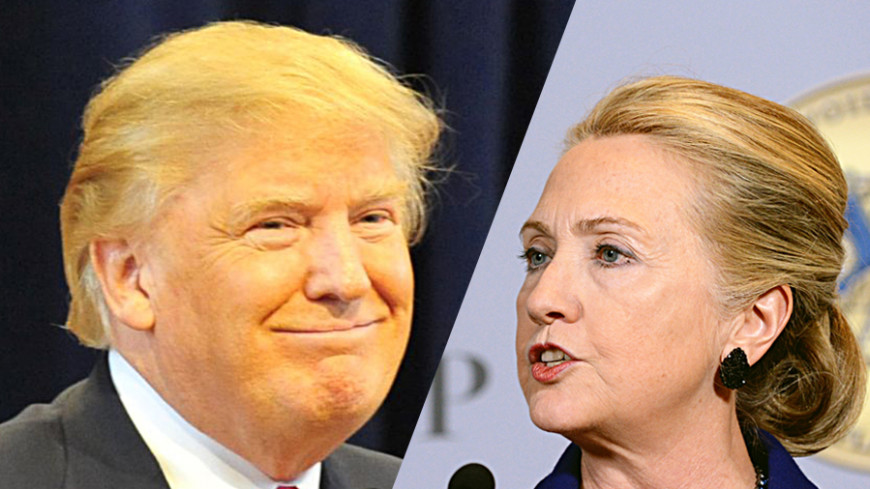 ТОП-5 пародий на Клинтон и Трампа