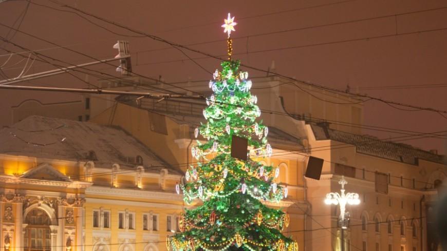 Новогодняя ночь в Москве прошла без нарушений