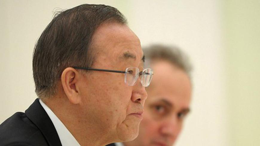 Генсек ООН обеспокоен ситуацией в Дебальцево