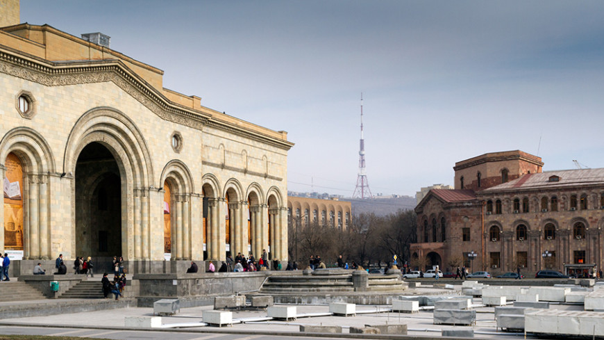 Правительство Армении решило озеленить Ереван