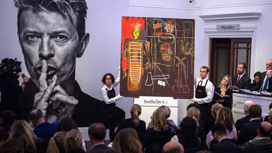 Коллекция произведений искусства Боуи ушла с молотка