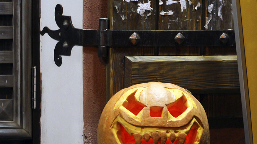 Хеллоуин вывел «нечисть» на улицы Минска (ФОТО)
