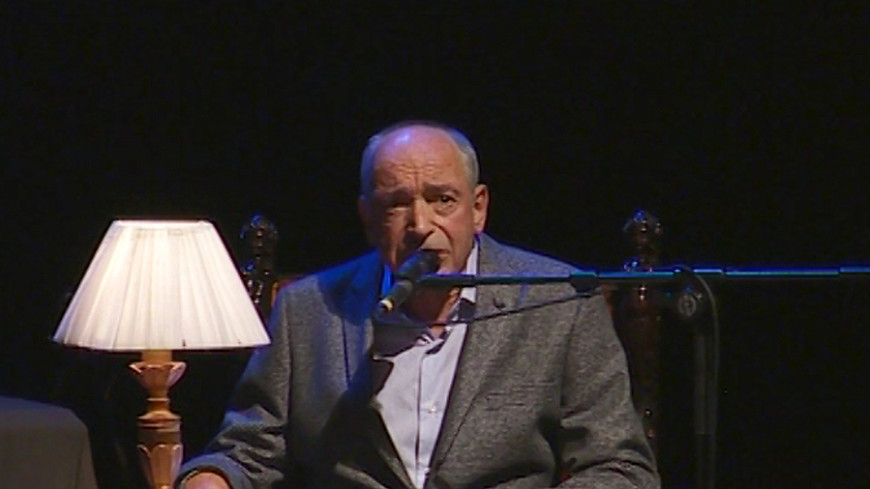 На юбилейном вечере Гафта состоялась презентация новой книги актера