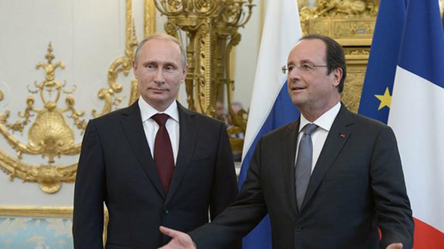 Путин и Олланд обсудили крушение Boeing-777