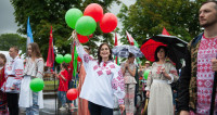 День вышиванки в Минске