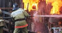 При возгорании нежилого помещения под Красноярском погибли пять человек