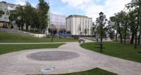 В центре Москвы открылся новый городской сквер