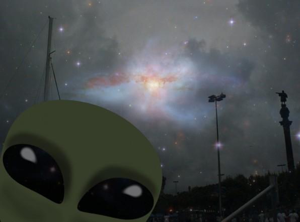Черное кольцевое НЛО зафиксировали в Великобритании