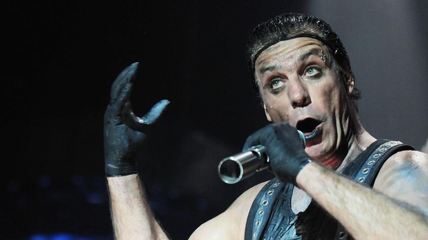 Лидер Rammstein попал в сети российских звезд
