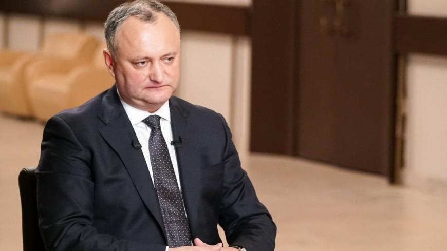 Додон ожидает  В.Путина  вгости вМолдавии в 2018г.