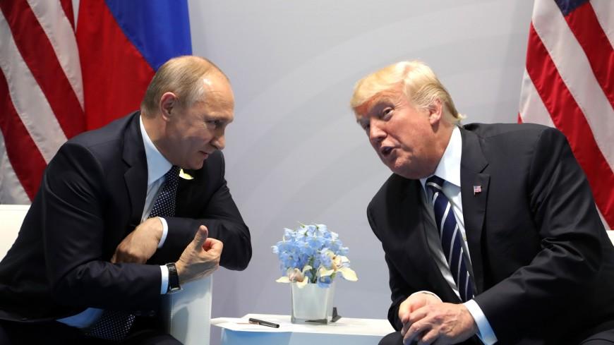 Вовремя переговоров вГамбурге Трамп пару раз  кричал на Владимира Путина