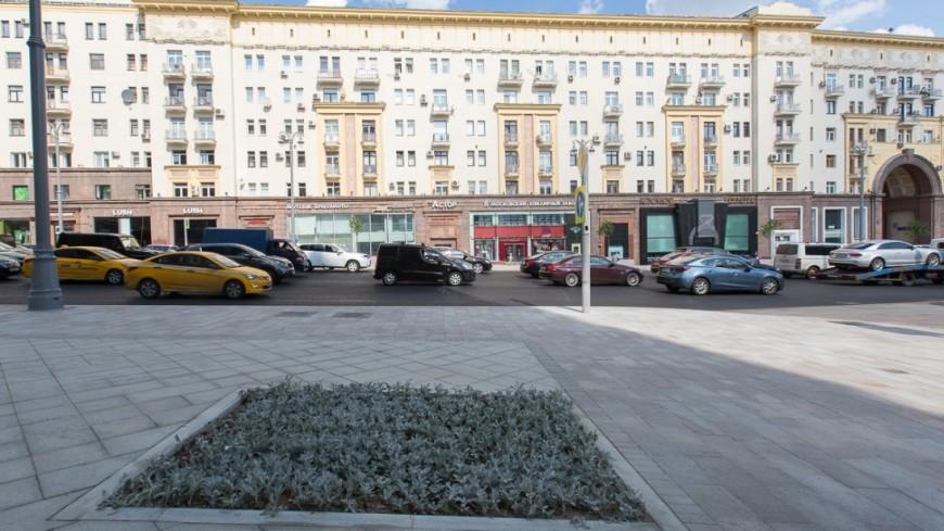 В Москве закрыли для автомобилистов часть Тверской