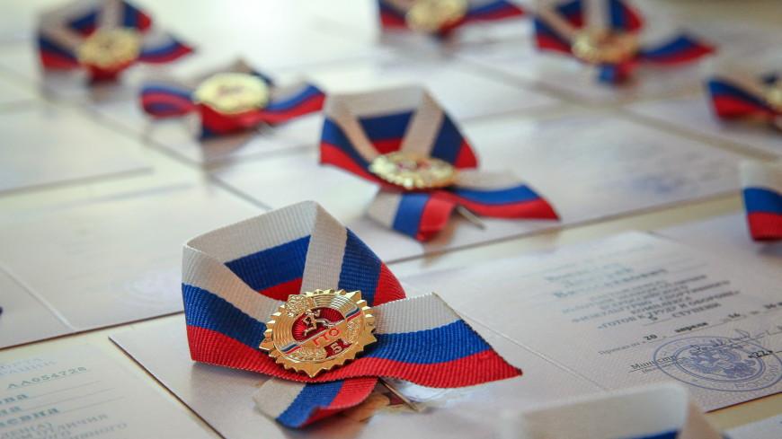 Новгородская пенсионерка получила золотой значок ГТО в 86 лет
