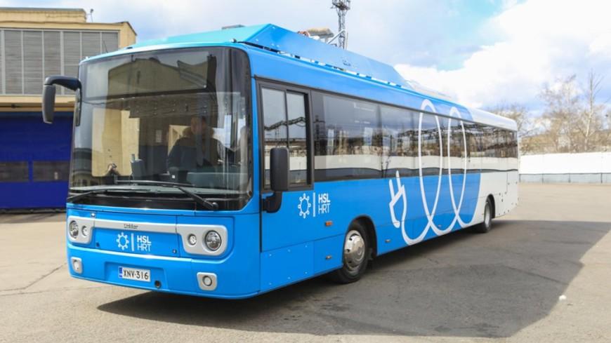 Электробусы появятся в столице России в 2018-ом