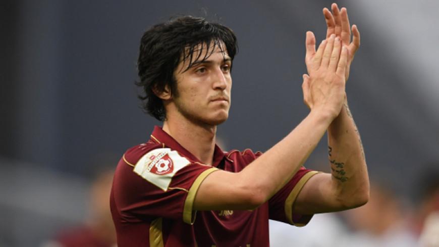 СМИ: Итальянский «Лацио» намерен подписать форварда «Рубина» Азмуна