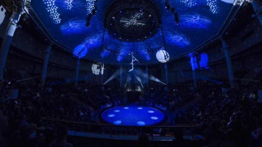 Шоу танцующих фонтанов «Аквамарин» объединило цирк, спорт и театр