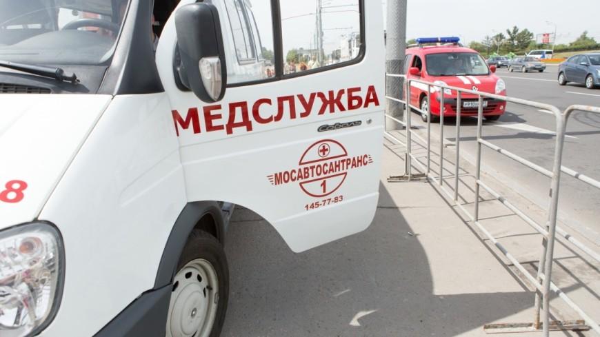 На Ставрополье легковушка улетела в кювет после удара об автобус
