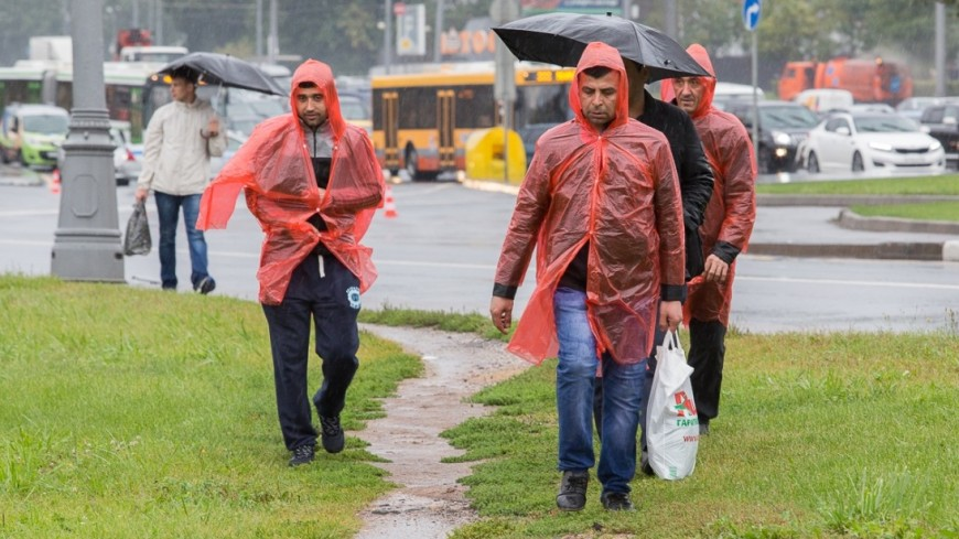Столичные народные избранники посоветовали раздавать дождевики внепогоду уметро
