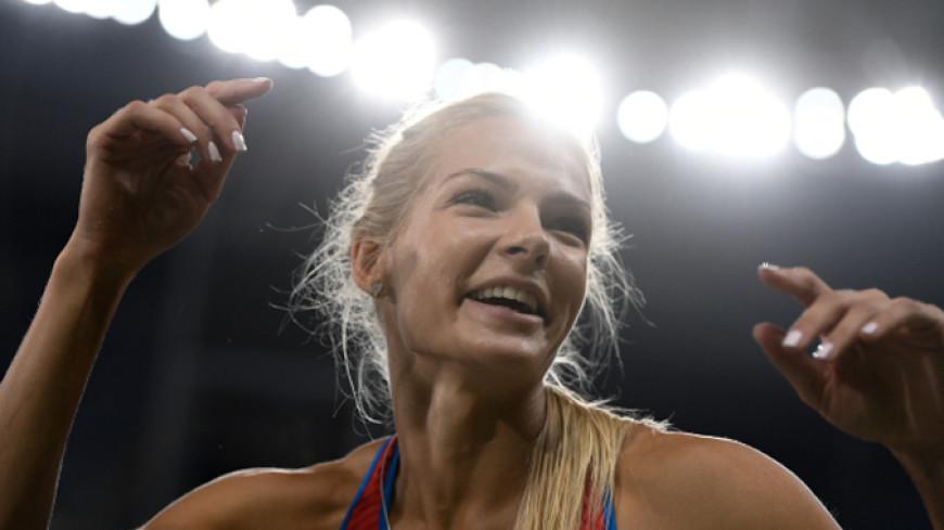 Легкоатлетка Клишина стала второй на прыжках в длину в Беллинцоне