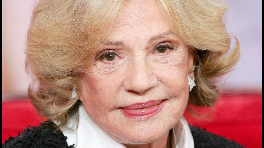 Скончалась французская артистка Жанна Моро