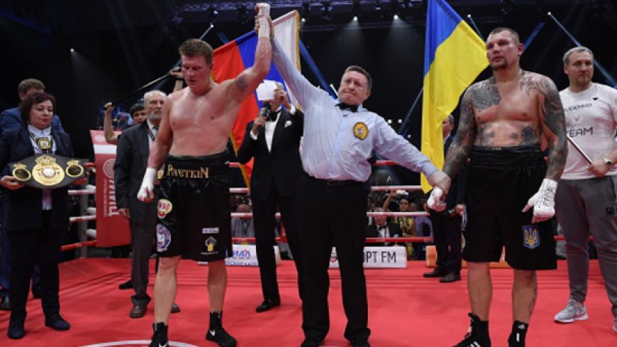 Поветкин победил Руденко в бою за два чемпионских пояса