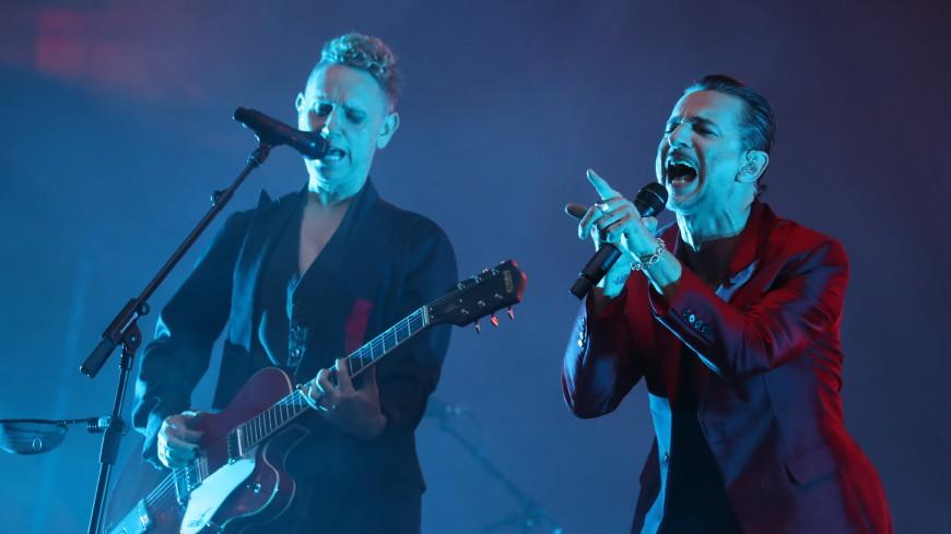 Группа Depeche Mode представит новый альбом наконцерте в столице