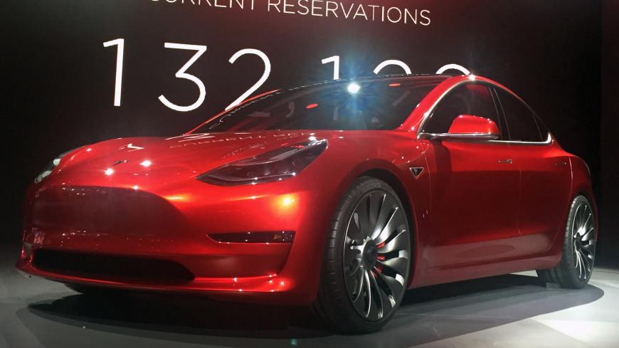 Продажи Tesla в РФ увеличились на25%