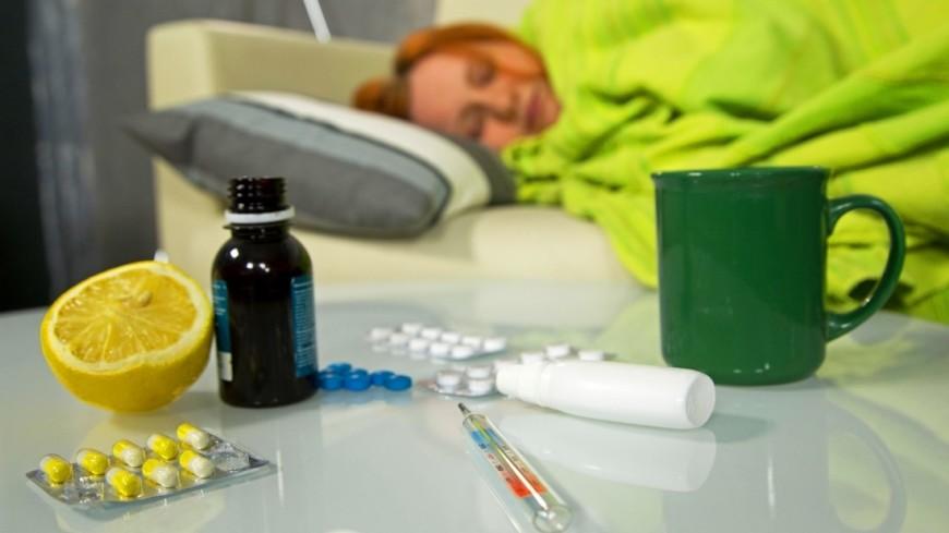 """Фото: Максим Кулачков (МТРК «Мир») """"«Мир 24»"""":http://mir24.tv/, лекарства, болезнь, простуда, недомогание, насморк, кашель, температура, воспаление, грипп, организм, больной, градусник, таблетки"""