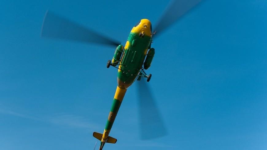 Вертолет совершил жесткую посадку вЛос-Анджелесе