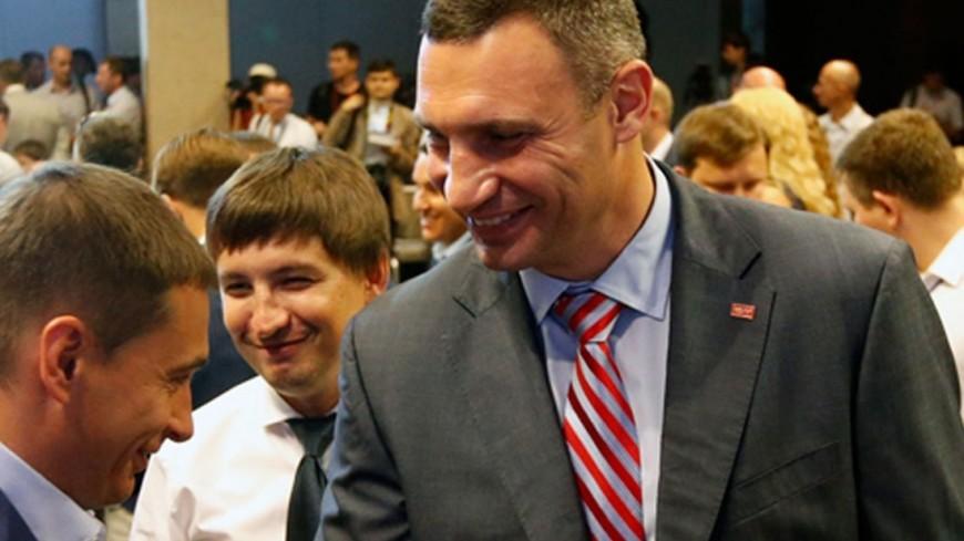Тренировка с мэром Киева Кличко ушла с молотка за $6 тысяч