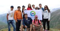 Покоряя вершины: флаг телеканала «Мир» украсил пик Фурманова в Казахстане