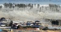 До Японии после землетрясения дошла волна цунами