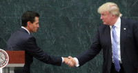 Трамп назвал президента Мексики своим другом