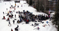 В Казахстане горнолыжный сезон стартовал с грандиозного массового спуска