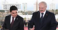 Лукашенко и Бердымухамедов открыли посольство Беларуси в Ашхабаде