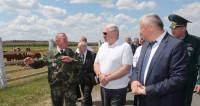 Лукашенко: На Гомельщине отдыхаю душой
