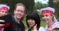 Школьники из Фукусимы приехали на отдых в Беларусь