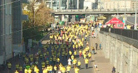 Третий «Московский марафон» собрал более 20 тысяч участников