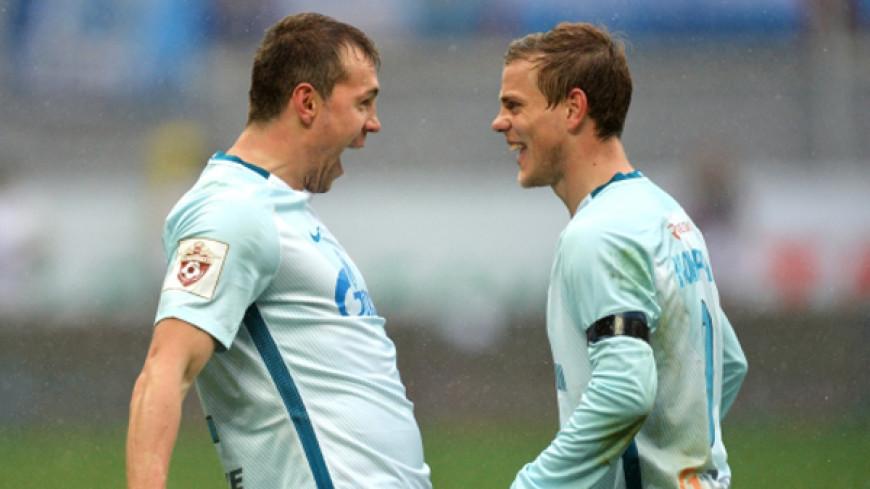 Дзюба и Кокорин осмеяли Черчесова после вылета сборной из КК-2017