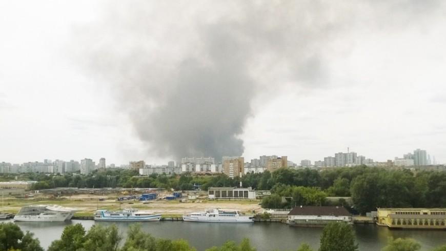 Желтый уровень опасности: столице России  угрожают пожары