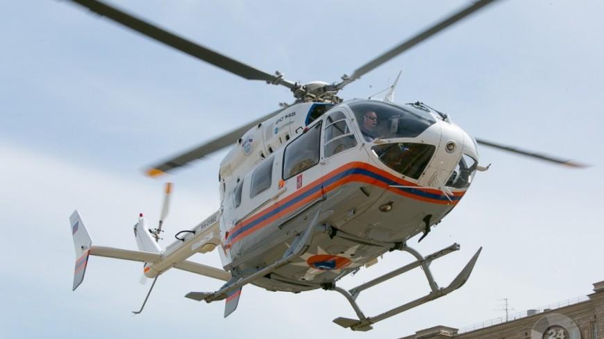 Для тушения пожара в ТЦ «Персей» могут привлечь вертолеты