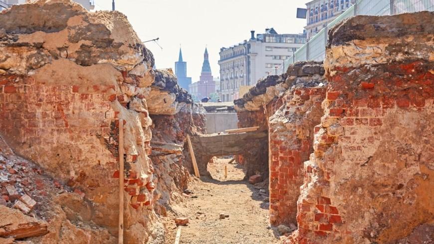 В Москве планируют открыть археологические музеи под открытым небом