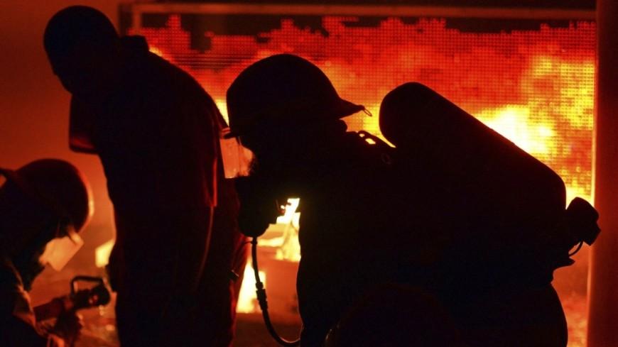 ВОренбургской области нахимзаводе произошел пожар